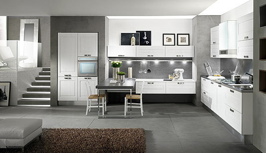 Awesome Cucine Moderne Contemporanee Contemporary - Ideas & Design ...